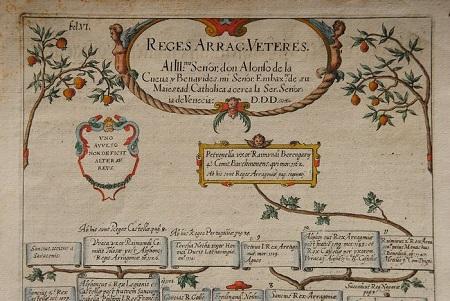 1612 Reges Arrag. Veteres. Antiguos reyes de Aragón. Cabecera del Documento, hasta Petronila