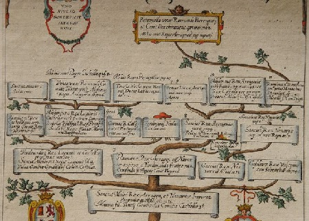 1612 Reges Arrag. Veteres. Antiguos reyes de Aragón. Desde Sancho el mayor 1035. Rey de Aragón y Navarra.