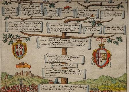 1612 Reges Arrag. Veteres. Antiguos reyes de Aragón. Desde Garcia Ennicus 895. Rey de Aragón y Navarra.
